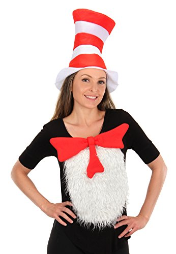 Dr. Seuss Cat in The Hat Deluxe Costume Kit for Adults and Kids