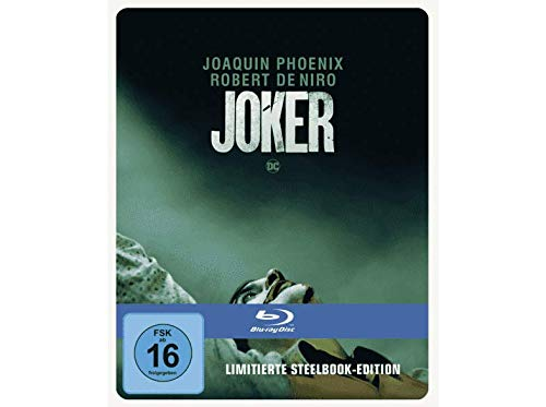 Joker - Exklusiv Steelbook Edition - Blu-ray (2D) Uncut, Regionfree