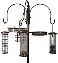 Selections Metal Complete Bird Feeding Station with 4 Feeders