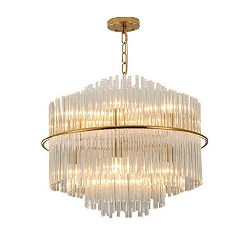 LZQ Einfache Moderne Wohnzimmer Esszimmer Schlafzimmer Lampe Kristall Kronleuchter - Neue kreative Persönlichkeit postmodernen Zyklus nordischen Glühlampen führte E14 Budget der Kronleuchter Beleucht