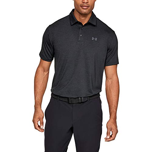 Under Armour Herren Playoff 2.0 Poloshirt, Schwarz (Black 1), SM