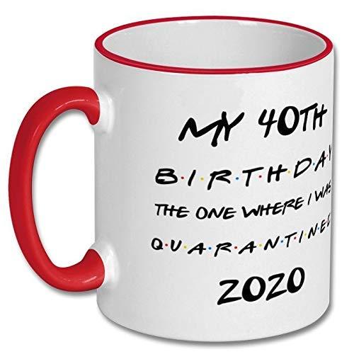 Taza personalizada 40.o regalo de cumpleaños, 40.o taza de cumpleaños, 40 cumpleaños, 40 años, 40.o cumpleaños taza de café, 40 años, 40.o cumpleaños, 40.o taza de cumpleaños Yaya Nana papá mujeres