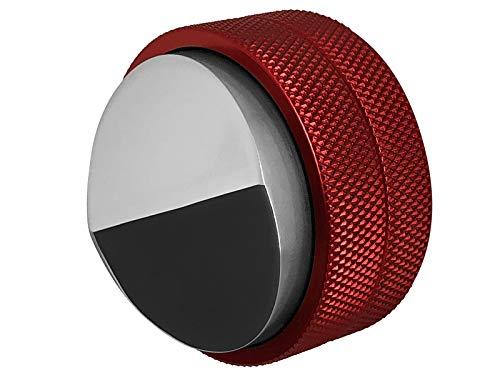 scarlet espresso | Distributor »Grande DUO« für Barista; zur perfekten Extraktion mit Siebträgermaschinen; 58 mm; verschiedene Farben; schwere Ausführung (Rot)