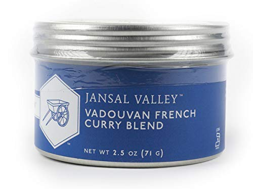 Jansal Valley Vadouvan French Curry Blend, 2.5 Ounce