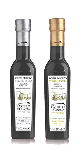 Castillo de Canena Reserva Familiar - Natives Olivenöl Extra - Packung Arbequina + Picual 2x250 ml