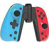 Mandos Switch Inalámbrico, RCCBOOST Switch Mando Controlador Gamepad Joysticks para Switch, Bluetooth Switch Mando De Reemplazo con Doble Choque   Giroscopio de 6 Ejes   350mah Batería