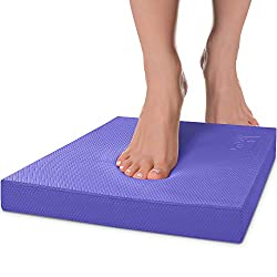 Balance Pad to improve balance, coordination, strength, core muscles, motor-skill training, overall stability and help prevent injuries.
