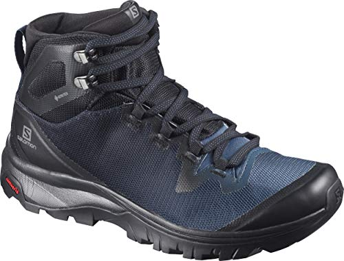 SALOMON Damen Shoes Vaya Wanderschuhe, Schwarz (Schwarz/Sargassosee/Schwarz), 40 EU