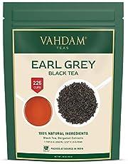 Earl Grey Tee (200 kopjes), bloemig, citroen & lekker, (losse bladeren) thee, zwarte thee gemengd met sterke bergamot extracten uit Italië, 100% zuiver, tuin fris, direct uit India, 454 g