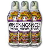 KINGS Herbal Food Supplement 750 ml (Pack of 3-Bottles)