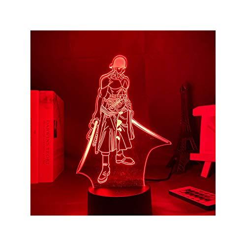 TIDRT Lámpara De Mesa 3D Lámpara De Imagen De Anime Regalo Chica Decoración De Dormitorio Lámpara USB Lámpara De Noche Led para El Sueño De Los Niños