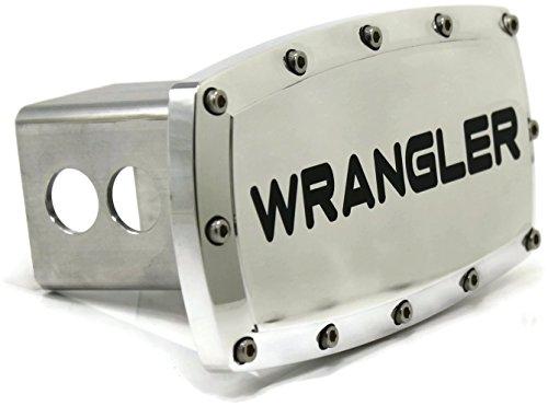 DanteGTS Jeep Wrangler 5,1cm Anhängerkupplung, Plug Gravur Billet-Aluminium