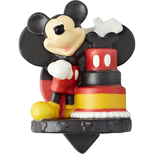 Wilton Mickey and The Roadster Racers Birthday Candle, Great for Birthday Cakes, Cupcakes, Muffins and More, Light up Your Child?s Eyes on Their Special Day,Assorted