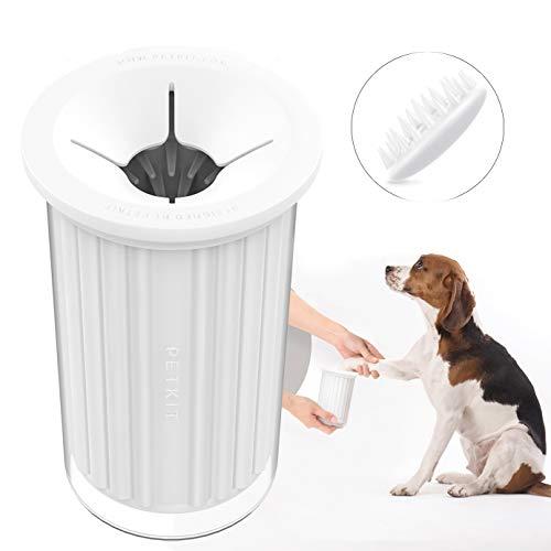 Limpiador de huellas PETKIT para perros, portátil, este increíble limpiador de patas para perros limpia suavemente y con cuidado las patas de tu perro