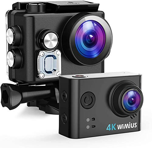 WiMiUS Action Cam 4K 20MP WiFi HD Impermeabile Fotocamera 40M...