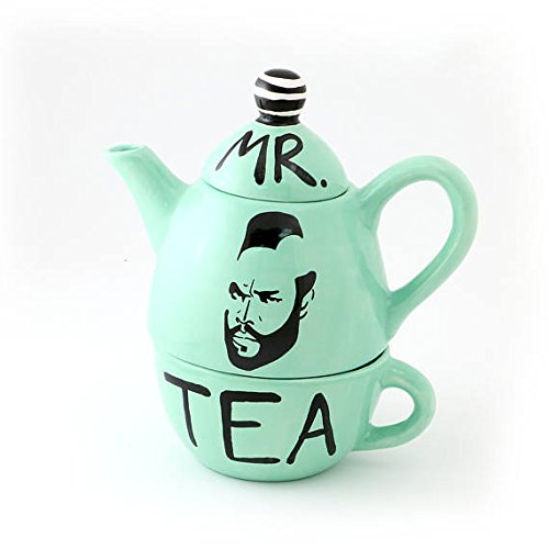 Mr. T Teapot Tea for One - Mint