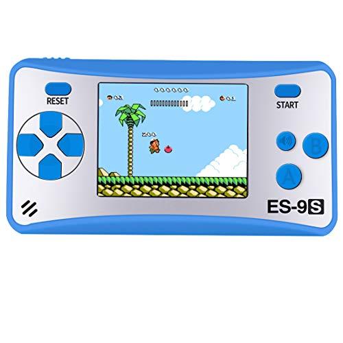 Zhishan GB-9X   Draagbare handheld   Spelcomputer   Gaming   168 spellen   Retro games   Blauw