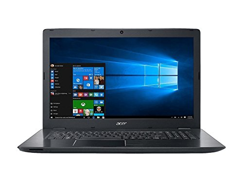 Acer Aspire17.3 Inch Full HD Laptop, 7th Intel Core i5-7200U 2.5GHz, 8GB DDR4 RAM, 256GB SSD, NVIDIA GeForce 940MX with 2GB GDDR5, 802.11ac, Bluetooth, HDMI, HD Webcam, Windows 10