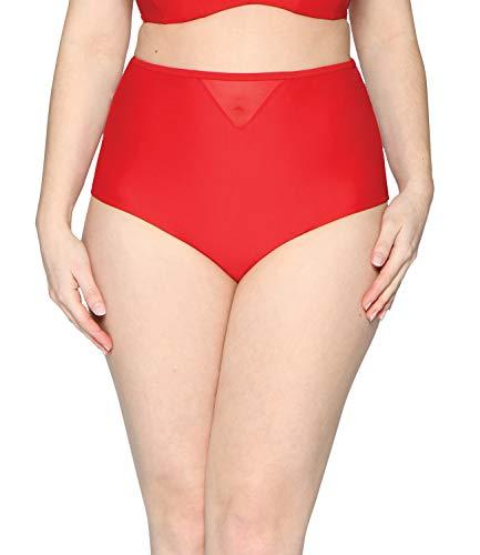 Rosso Bikini a fascia colore Curvy Kate Sheer Class