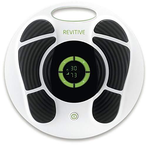 Revitive Medic Plus Durchblutungsstimulator - klinisch erprobte, patentierte Technologie - verursacht durch Bewegungseinschränkungen, langes Sitzen oder Stehen. Verpackung kann variieren