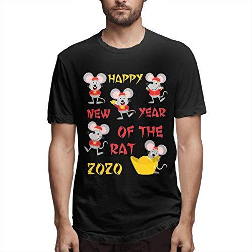 Whgdeftysd Leuke Muis 2020 Jaar Stijlvol, Casual, Comfortabel Katoen Mode Short-Sleeved T-Shirt 1