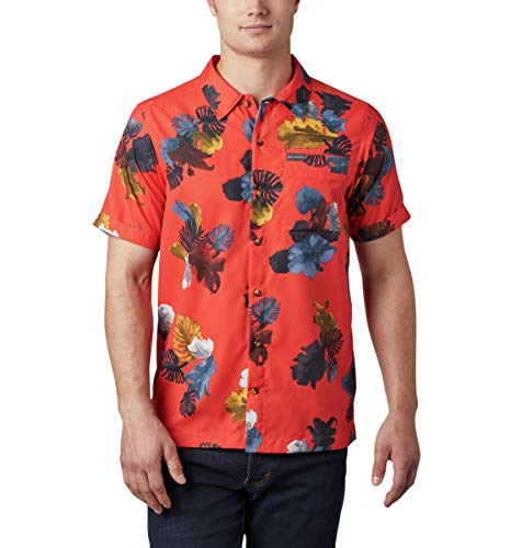 Columbia T-Shirt à Manches Courtes pour Homme Outdoor Elements M Wildfire Tropic.