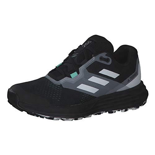adidas Terrex Two Flow W, Zapatillas de Trail Running Mujer, NEGBÁS/Balcri/MENCLA, 40 2/3 EU