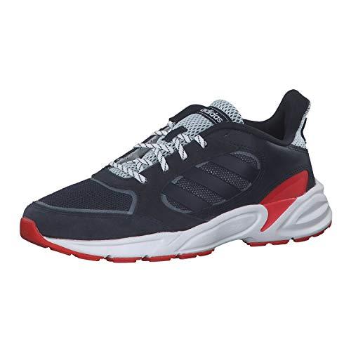 adidas 90s VALASION, Zapatillas de Running Hombre, Tinley/Azutra/Rojact, 40 EU ✅