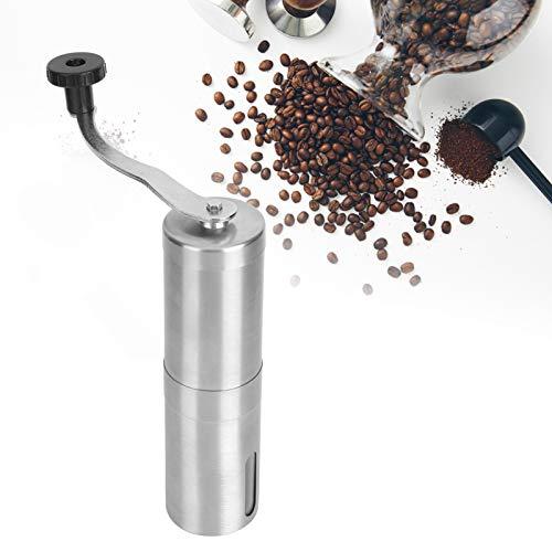 handbook Coffee Grinder, burr Coffee Grinder Durable Rust‑resistant Coffee Grinding Too Stainless Steel for Office