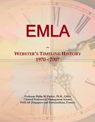 EMLA: Webster's Timeline History, 1970 - 2007