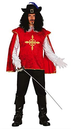 Fiestas Guirca Kostüm Mann Musketier grÖsse m