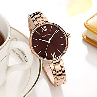 Curren Casual Watch For Women Analog Alloy - curren 9017