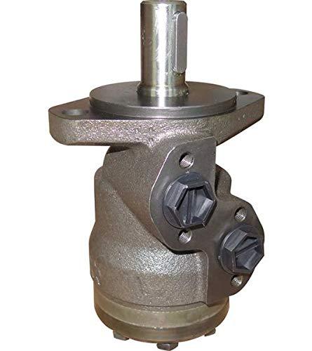 Hydraulikmotor M+S CMP_CD, Schluckvolumen wählbar von 50 cm3/U – 400 cm3/U, Anschlüsse (seitlich): G 1/2'', Welle: Ø 25 mm zylindrisch Größe 160 ccm