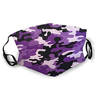 Adult Face Cover Purple