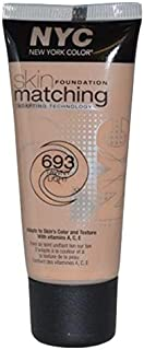 NYC Skin Matching Foundation - 693 Tawny Light, 30 ml