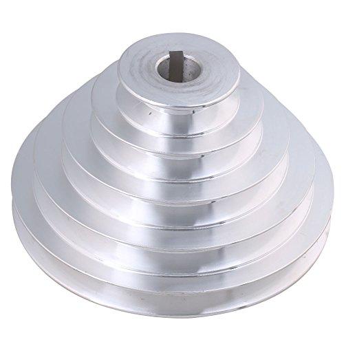 54 mm a 150 mm Diámetro Exterior 19 mm de diámetro Interior 12.7 mm Aluminio 5 Pasos Modular de cinturón de poleas para A Tipo Correa Dentada de Correa en V