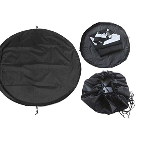 Wetsuit Changing Mat, Surf Changing Mat, Beach Diving Suit Storage Bag, Wet Bag for Surfers with Especially Designed Handles & Hidden Pocket, Portable Surf Wetsuit Changing Mat Pad (50cm)
