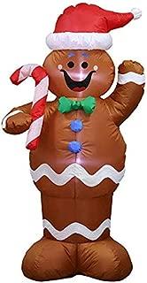 Delisouls Decoración Navidad, Hinchable Navidad Santa Claus ...