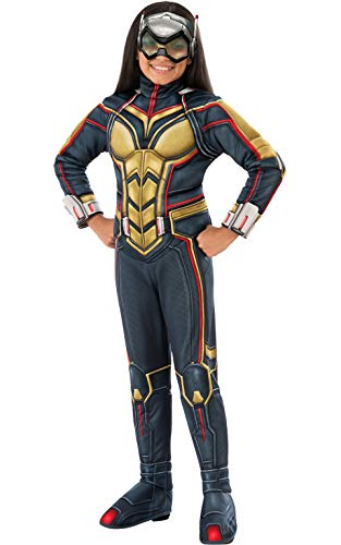 Rubie's Marvel - Ant-Man and The Wasp - The Wasp Deluxe Child Costume, Size M (5-6 Yrs)