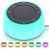 Jack & Rose White Noise Machine for Sleeping Baby Adults Kids, Sound Machine with Night Light, 16 Soothing Sounds for Sleeping, Plug in, Noise Maker for Bedroom Home