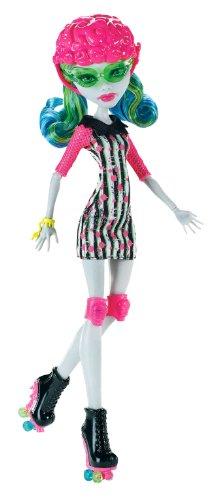 Mattel X3675 - Monster High Rollschuh-Clique Ghoulia, Puppe