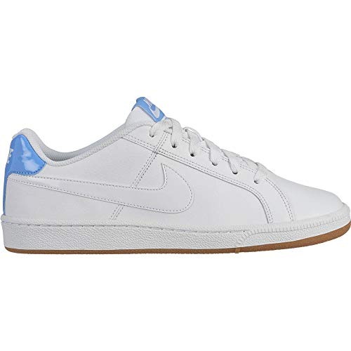 Nike Wmns Court Royale, Zapatillas de Tenis para Mujer, Multicolor (Blanco/Blanco/University Blue 118), 36 EU