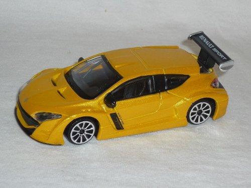 Renault Megane Trophy Gelb 1/43 Burago Bburago Modell Auto Modellauto
