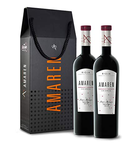 Amaren crianza Vino Tinto Estuche 2 Botellas - 750 ml