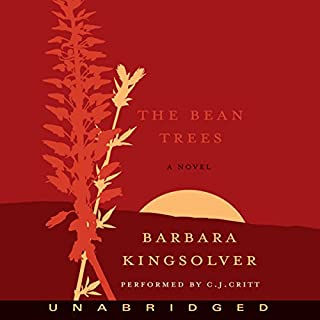 The Bean Trees audiobook cover art