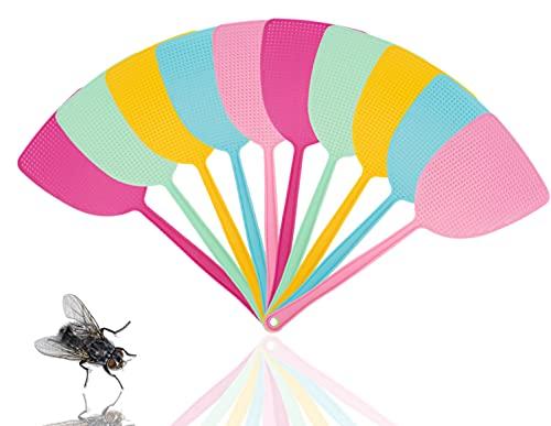 TK Gruppe Timo Klingler 10x Fliegenklatsche Klatsche Mückenschaber als Fliegenschutz - Fliegenfänger & Fliegenfalle vor Insekten, Fliegen, Mücken, Wespen