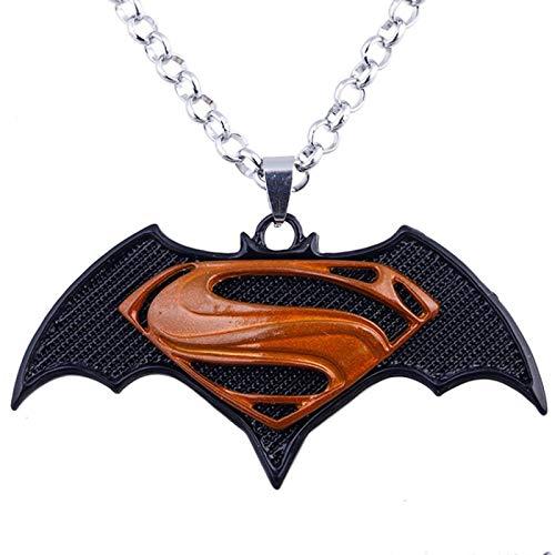Jcveghyg Collier Batman De Style Européen Et Américain Série Marvel Batman Vs Superman Collier Cosplay Accessoires De Cinéma Et De Télévision