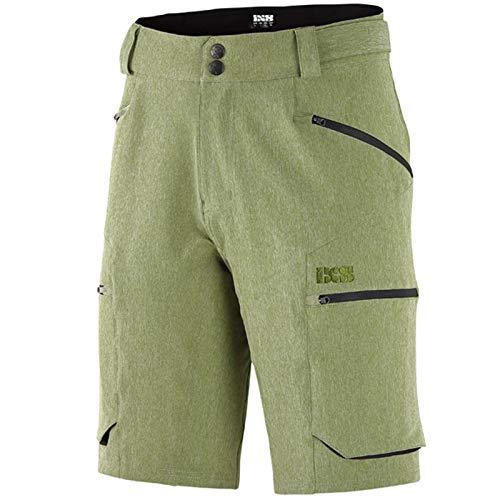 IXS Tema Shorts Olive L Hose, Erwachsene, Unisex, Schwarz