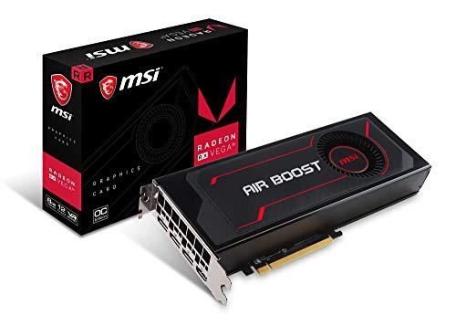 MSI RX Vega 56 AIR Boost 8G OC Radeon RX Vega 56 High Bandwidth Memory 2 (HBM2) Grafikkarte (Radeon RX Vega 56, 8 GB, High Bandwidth Memory 2 (HBM2), 2048 bit, 800 MHz, PCI Express x16)
