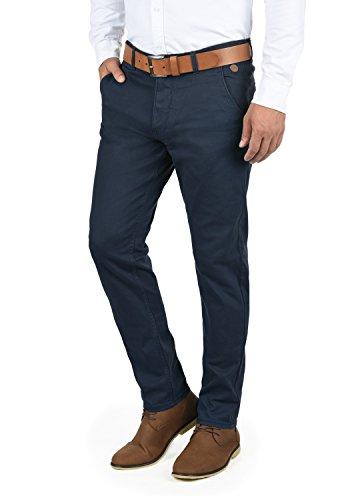 Blend Kainz Herren Chino Hose Stoffhose Aus Stretch-Material Regular Fit, Größe:W32/32, Farbe:Navy (70230)